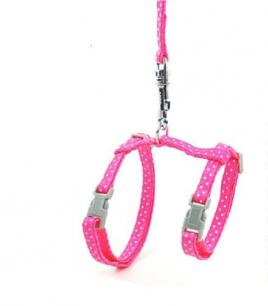 Pink Cat Harness